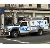PCAR NYPD ESS Emergency Service Squad Police Truck New York City By