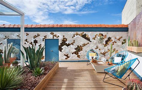 casa decor azotea quot un vergel de contrastes quot espacio desert city en