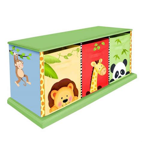 Jungle Drawer by Jolly Jungle 3 Drawer Cubby