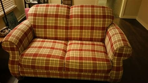 Plaid Sofa And Loveseat by Letgo Plaid Sofa Loveseat In Fort Worth Tx
