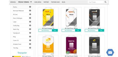 cara membuat id card di internet cara membuat id card online di kemasaja com cara desain