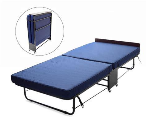 Arizona Premium Mattress Reviews by Premium Folding Bed With Quilted Split Fold Mattress Az