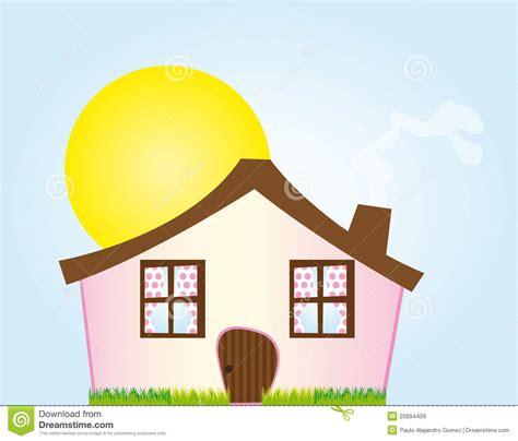 Design This Home App Free Download by Casa Cor De Rosa Dos Desenhos Animados Imagens De Stock