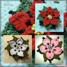 antel de noche buenas a crochet patron para hacer una flor de noche buena a crochet