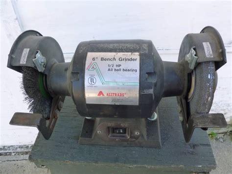 alltrade bench grinder bench grinder manannah 234 napa sandblaster reznor