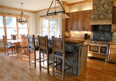 burleson home furnishings barnwood kitchen island real to paint or not to paint the beauty of au natural wood