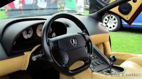 Lamborghini Diablo Interior Lamborghini Diablo Sv Sound Walkaround Interior And