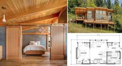 550 square foot house 550 sq ft prefab timber cabin home design garden architecture blog magazine