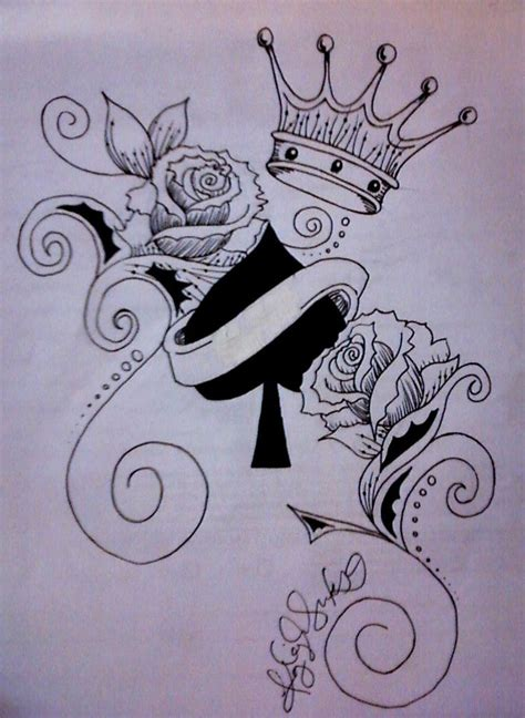 king of spades tattoo best 25 of hearts ideas on