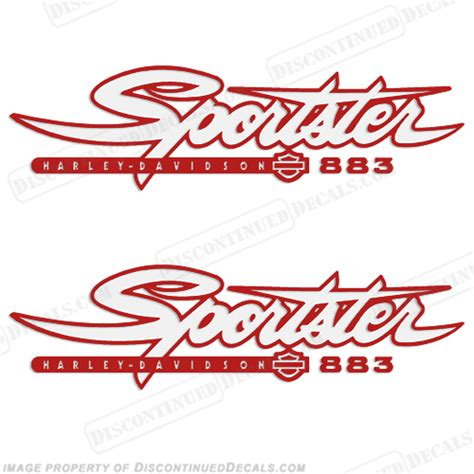 Sportster Tank Aufkleber by Harley Decals
