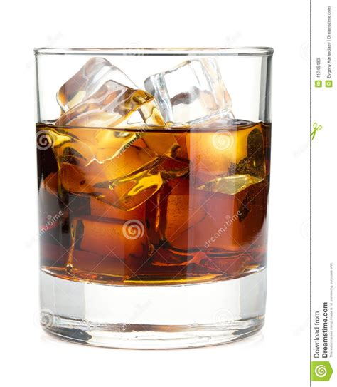 whiskey cocktail photography whiskey cola cocktail stock image image of cube close
