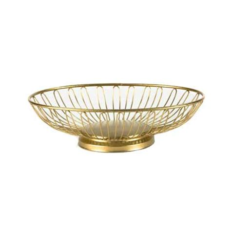 gold wire basket gold wire bread basket tabletop accessories rental for your wedding or event from linen