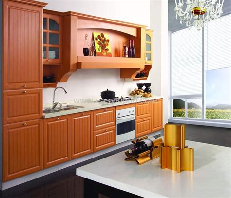 Pvc Kitchen Furniture Designs Kitchen Cabinet Mdf Pvc Et K Pvc China Kitchen Furniture