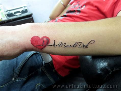 mum and dad tattoos on wrist 25 best ideas about tattoos on