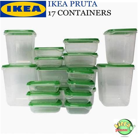 Ikea Sunnerta Set 1 Rel 4 Wadah buy tupperware promo july deals for only rp160 000 instead of rp185 000