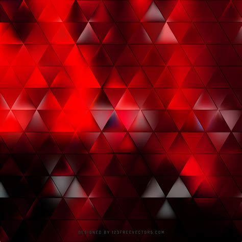 black abstract wallpaper vector abstract red black triangle background vector 123freevectors