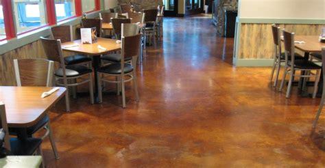 Restaurant Floors ? Enhancing Concrete Floors in
