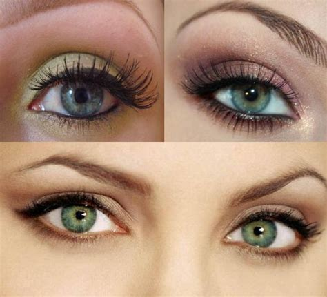 light smokey eye for green how to green pop