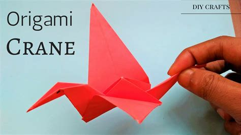 Origami Crane Step By Step Easy - origami crane tutorial easy simple step by step how
