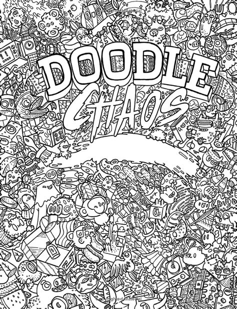 doodle how to create chaos doodle chaos zifflin s coloring book volume