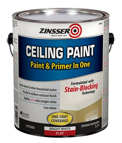 Zinsser Ceiling Paint Review by Zinsser Zinsser Ceiling Paint The Home Depot Canada