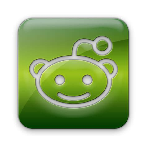 Free Search Reddit Reddit Logo Square Webtreatsetc Icons Free Icons In Green Jelly Social Media Icon