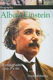 biography of albert einstein book albert einstein by frieda wishinsky reviews discussion