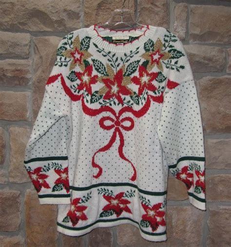 Ugly Christmas Pullover Sweater Backward Glances