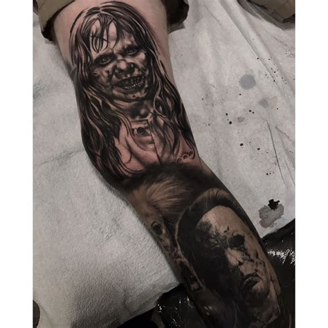 zombie tattoo norco exorcist by steven house at in norco