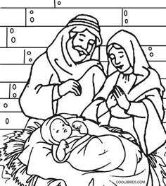 nativity coloring page printable nativity coloring pages for
