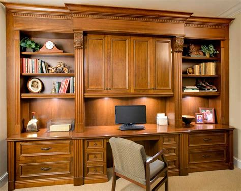 Built In Home Office Furniture Wall Units Inspiring Custom Built Office Cabinets Diy