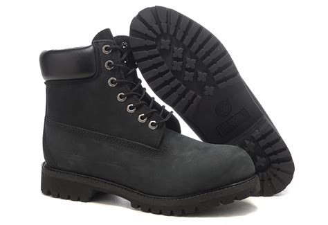 all black timberland boots shop for shoes timberland all black 6 inch premium