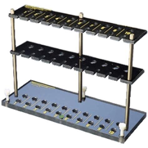 Rate Rack by Kimble 174 2215n Ten Slot Biohazard Esr Blood Sedimentation Rack For West