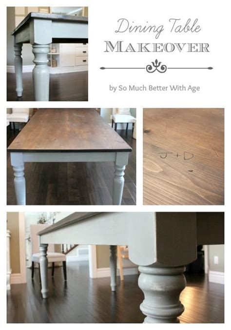 Diy Paint Dining Room Table Best 25 Dining Table Makeover Ideas On Dining Table Redo Refurbished Dining Tables