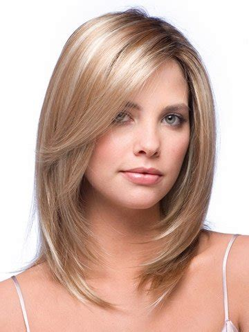 Medium Layered Face Framing Haircuts | layered medium length hair with face framing layers