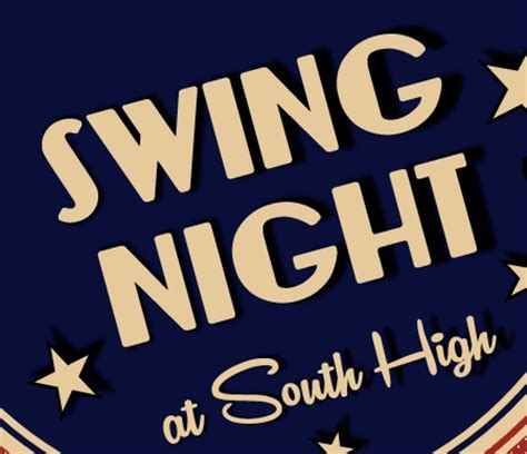 Get Jazzed For Swing Night At South