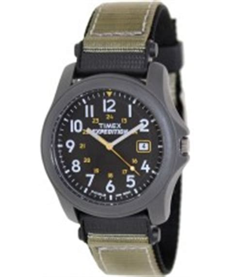 Expedition E3002 Silver Black Blue Original timex mens black cer expedition wristclock
