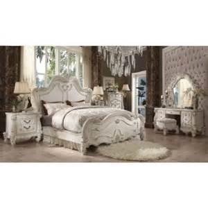 Eastern King Bedroom Set acme furniture versailles 21147ek7set 7 pc bedroom set