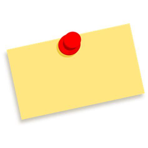 Thumbtack Note Blank Clipart Cliparts Of Thumbtack Note Blank Free Download Wmf Eps Emf Svg Thumbtack Template