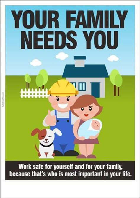 Adids God Safety safety poster your family needs you safety