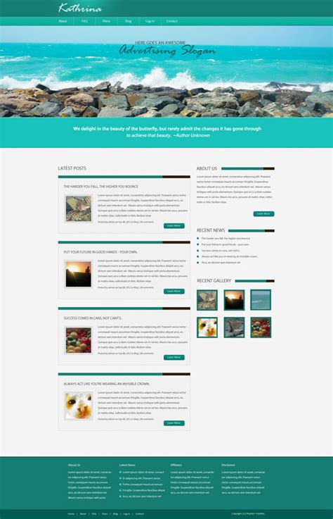 templates for blog website cms designed website total custom solutions