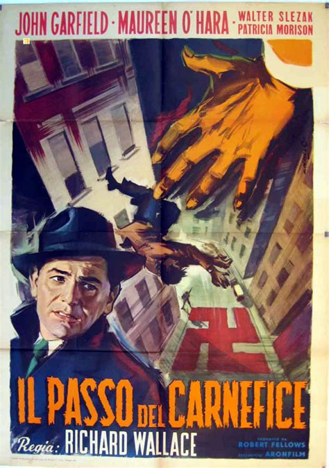 film the fallen sparrow quot il passo del carnefice quot movie poster quot the fallen