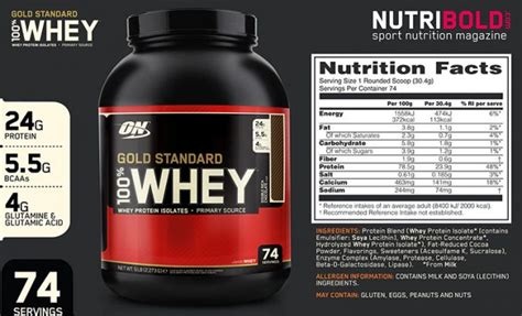 Whey Protein Gold Standard Optimum Nutrition Gold Standard Whey Protein Powder Review