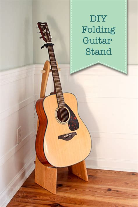 How To Make A Guitar With Paper - how to make a folding guitar stand pretty handy