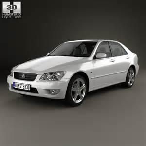 lexus is xe10 2001 3d model humster3d