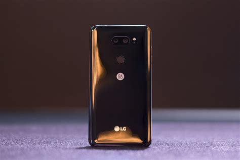 the most prominent logo on lg s best phone is