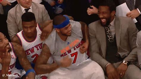 carmelo anthony bench press knicks vs bobcats 1 25 14 game recap the new york