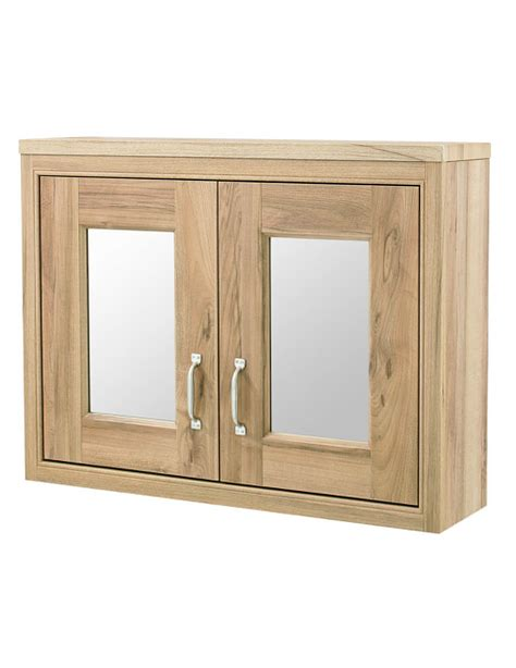 bathroom cabinets london old london natural walnut 800mm mirror cabinet nlv515