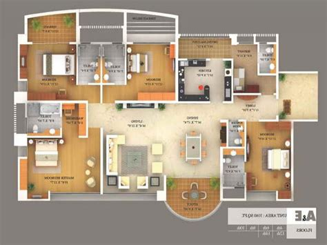 Design Your Own Home 3d Free by 4 Bedroom Floor Plan In Nigeria Free Home Design Ideas