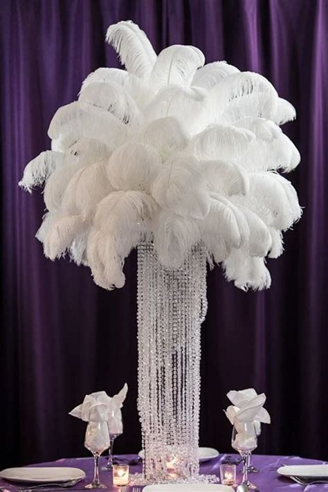 best 25 ostrich feather centerpieces ideas on